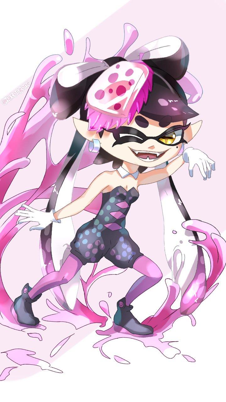 Aioli Splatoon hatorgone on   splatoon squid sisters, callie, marie, anime