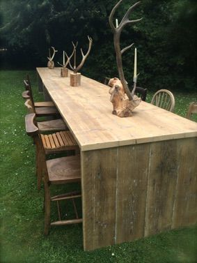 10 AND 12 FT UPCYCLED BOARDED TABLES FOR HIRE IN THE UK - Click through to our website for more details