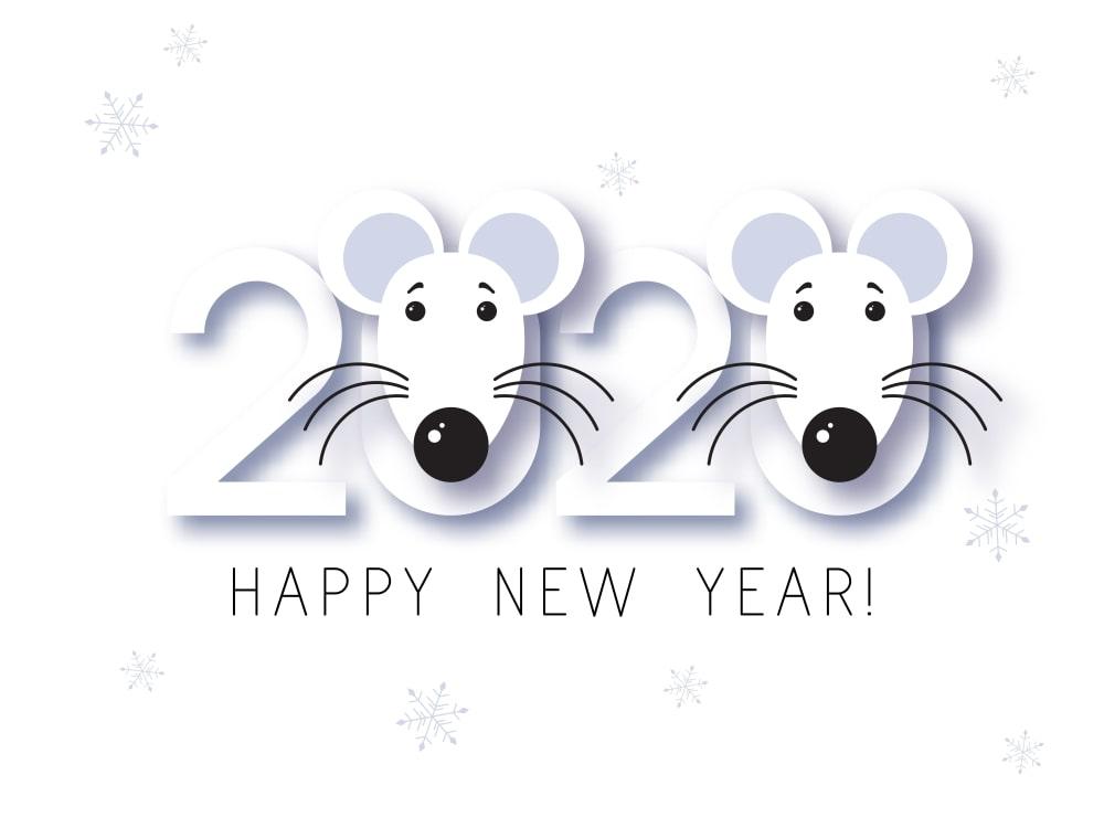 Happy Chinese New Year 2020 Wallpapers Новогодние