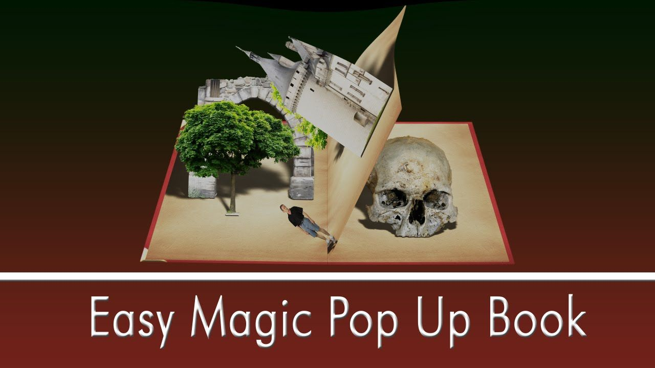 popup book tutorial  omg bad graphics | Pop up | Easy magic, Pop up
