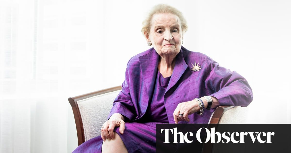 Madeleine albright the things that are happening are