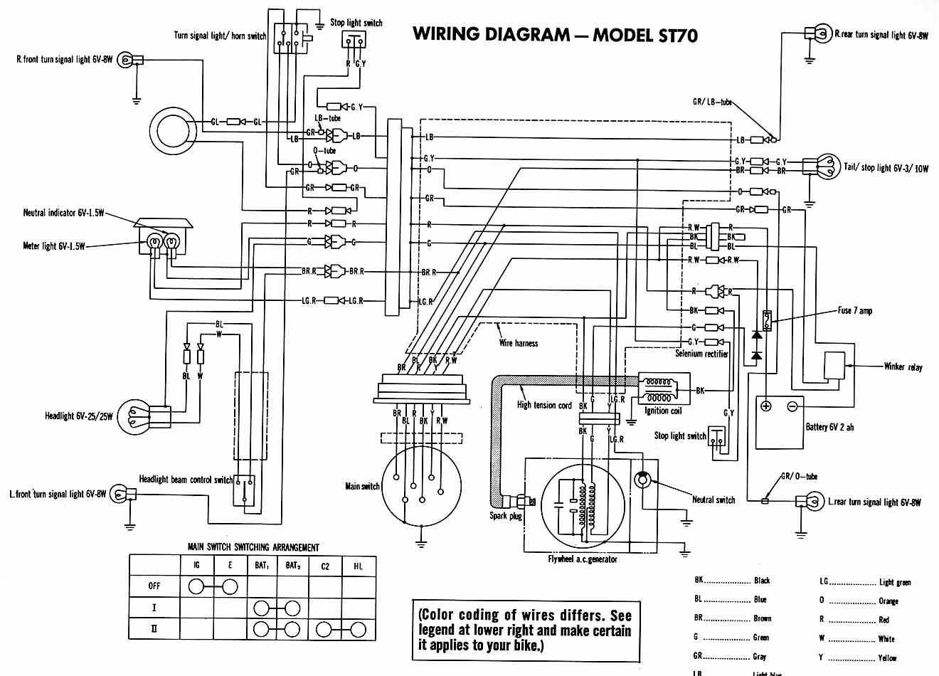 Motorcycle Wirering Diagram Yahoo Image Search Results Diagram Honda Motorcycle Wiring