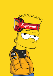 Afbeeldingsresultaat Voor Supreme Wallpapers Bart Supreme Wallpaper Bart Simpson Art Supreme Art