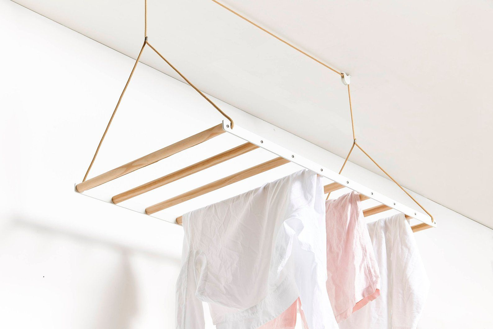 White Clothes Airer Clothes Drying Rack Hanging Drying Rack