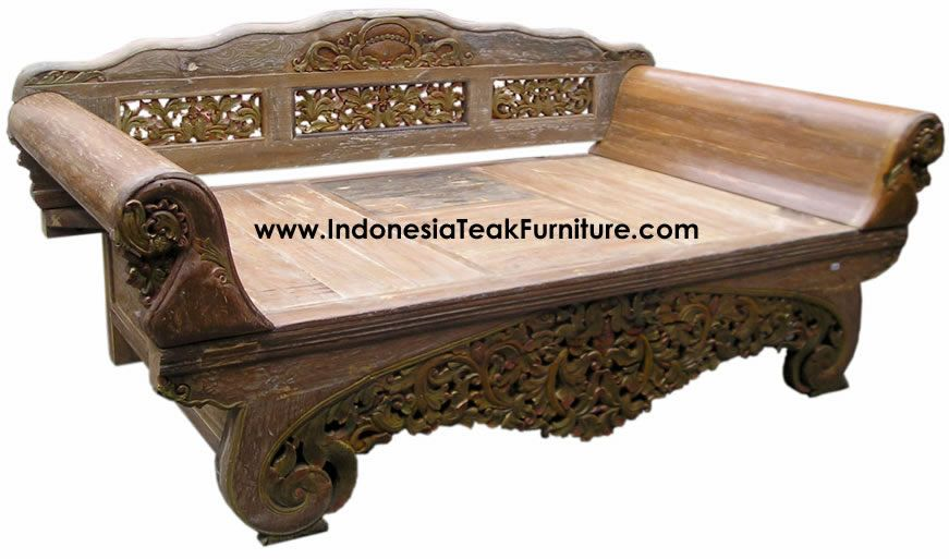 Teak Wood Daybeds Bali Indonesia Furniture Bali Indonesia Furniture Bali