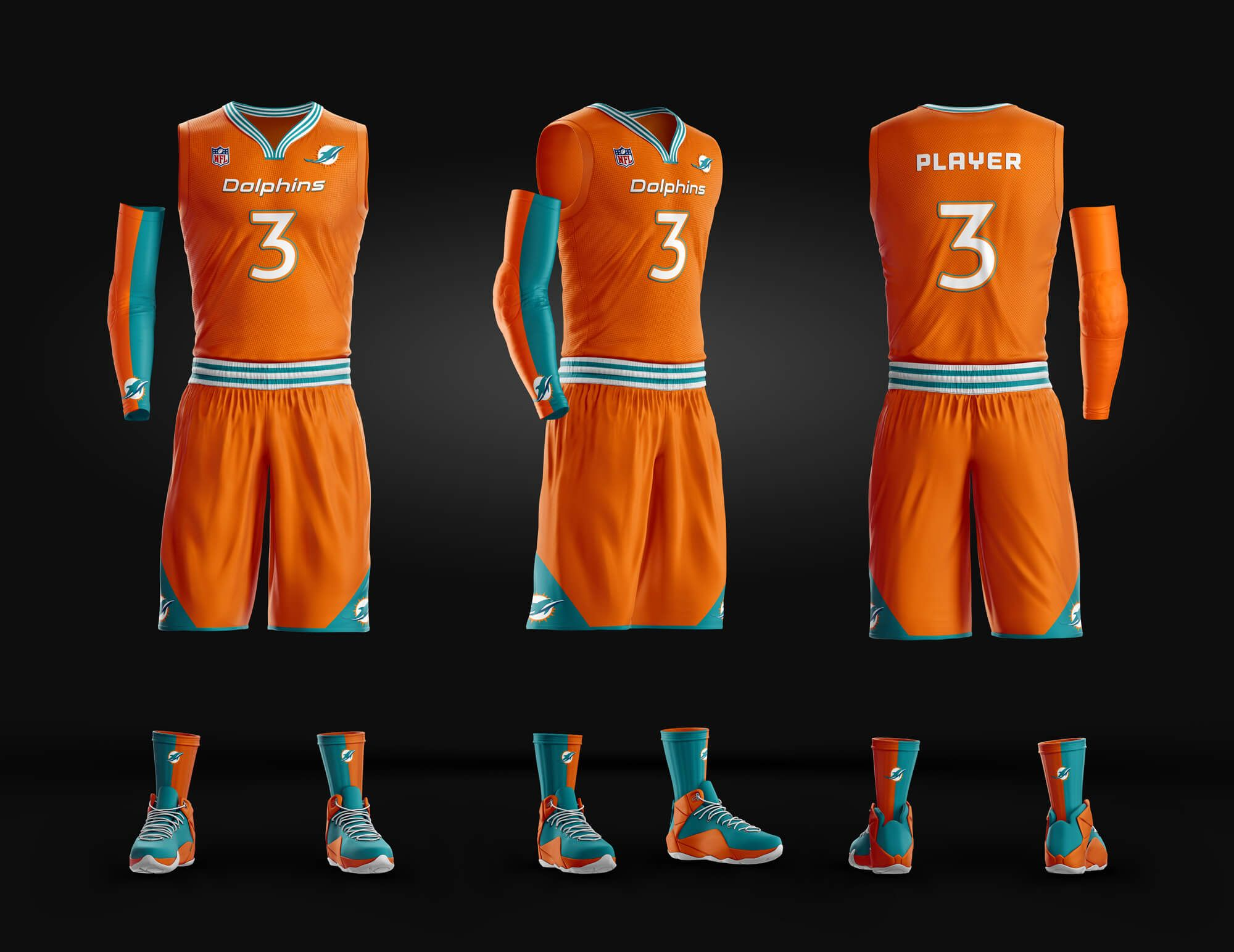 503e148a Slam Dunk Basketball Uniform Template | Sports Mockups PSD ...