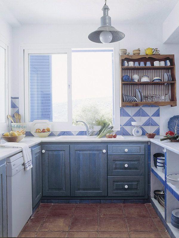 Cómo decorar la casa de la playa Como decorar la casa, La playa y - cocinas en l
