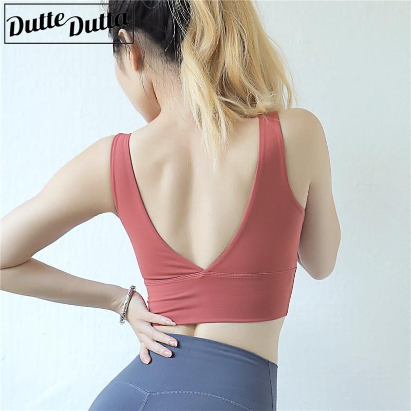 323dc2a38d Fitness Sports Bra Women Gym Yoga Bra Crop Tops Sportswear For Women Sport  Push Up Brassiere