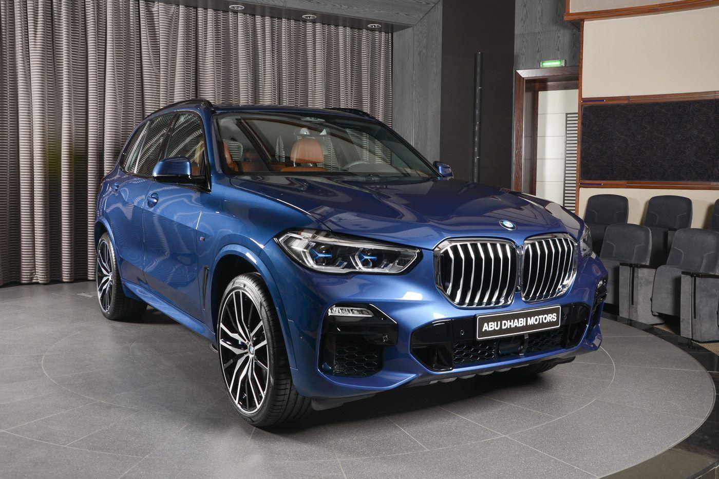 New 2019 Bmw X5 50i Looks Great In Phytonic Blue Bmw X5 M Sport