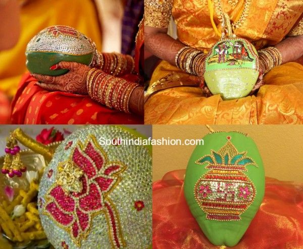 Coconut Decoration for Weddings | Dips Crafts | Coconut