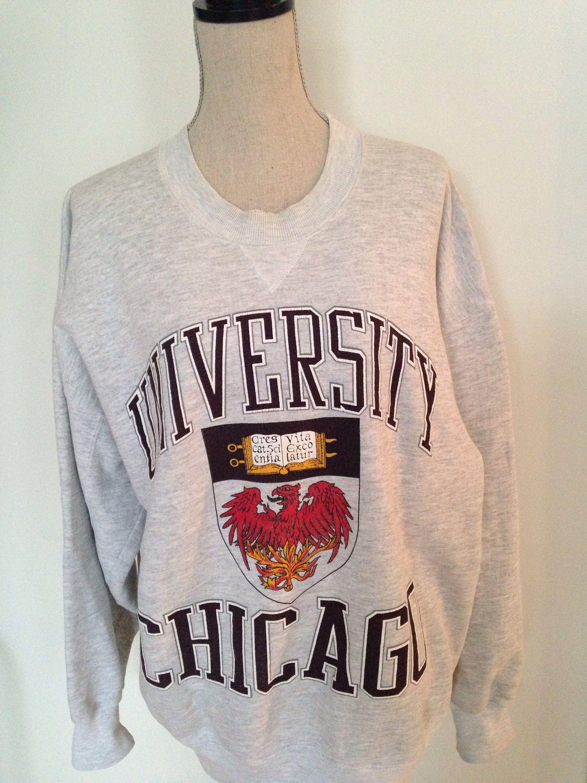 ebe1cf61 Vintage University of Chicago Sweatshirt | Vintage College Gear ...