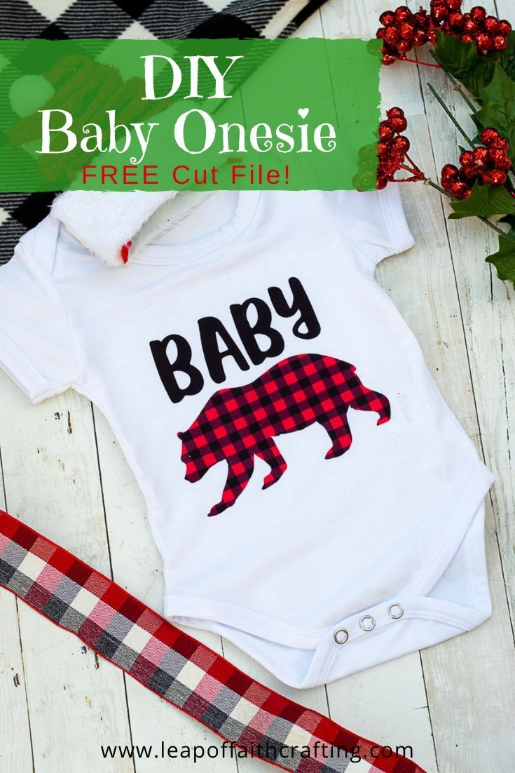 Adorable DIY Baby Bear Onesie Onesies, Free baby stuff
