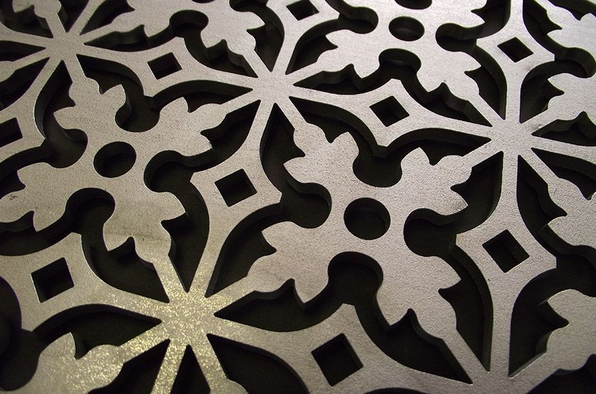 Laser Cutting Panels Is An Excellent Way To Divide Areas Disfuse Light And Even Add
