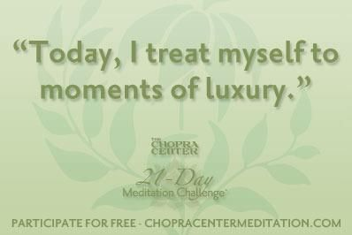 A shower, a laugh with a friend, a warm blanket are all luxuries we take for granted. Be present-- <3 Inspired-Nourishment.com  #healthcoach #deepakchopra #meditate #grateful #abundance