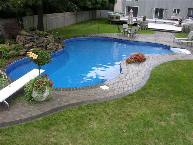 Pin By Sandy Porter On Home Decor Small Pool Design Pool Freeform Pools