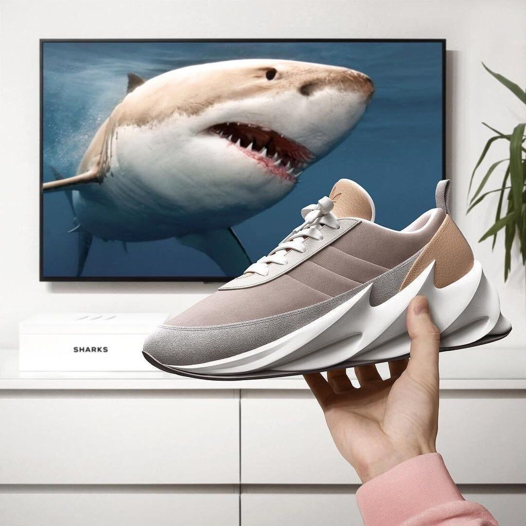 Adidas SHARKS boost concept : Sneakers | Shark shoes, Trendy