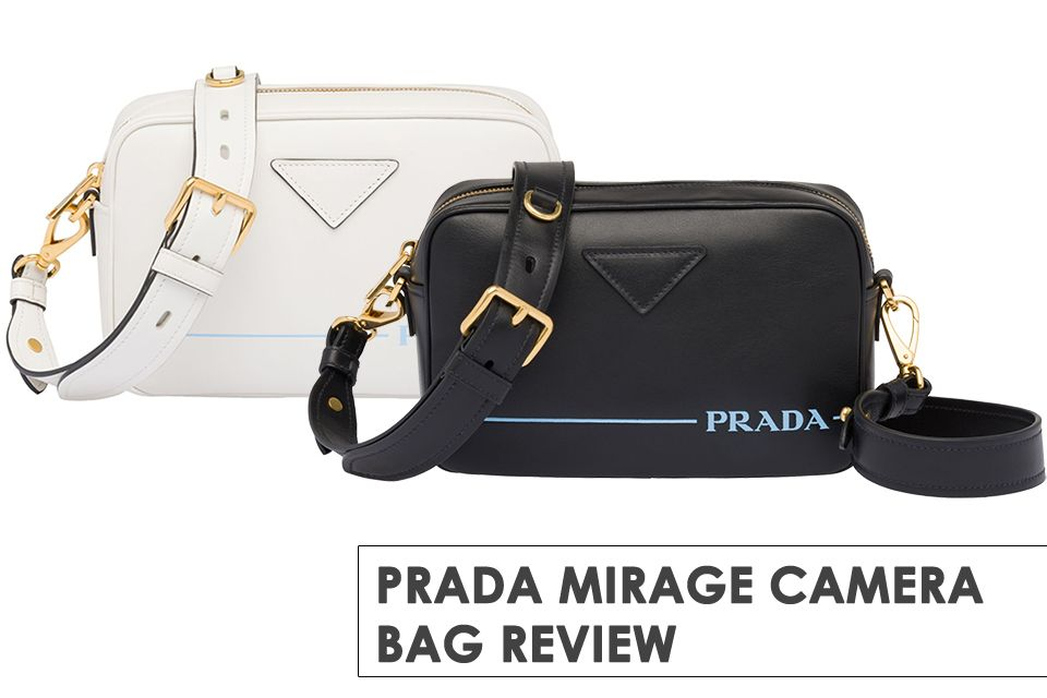 b2ce789406cf Prada presents the Mirage Bag with new modern logo, you like or don't like?  Details here.
