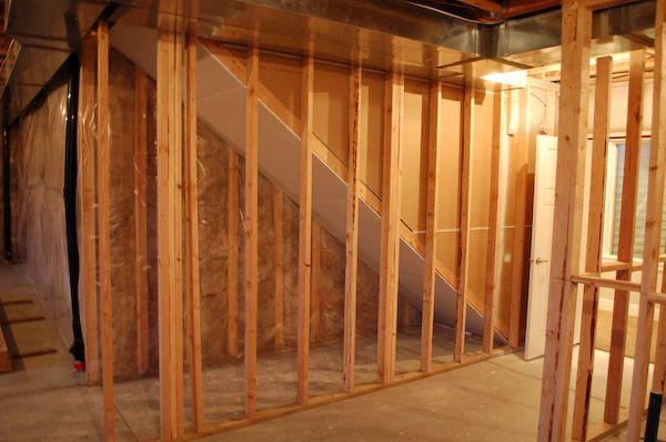 Fire Blocking Stair Drywall