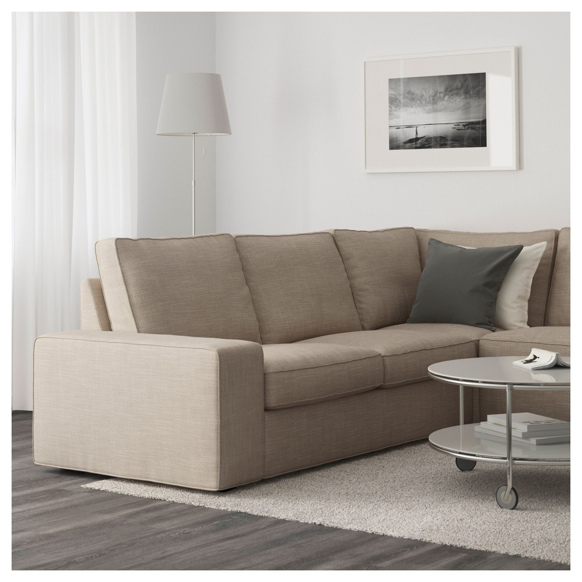 kivik sectional 5seat corner  hillared with chaise