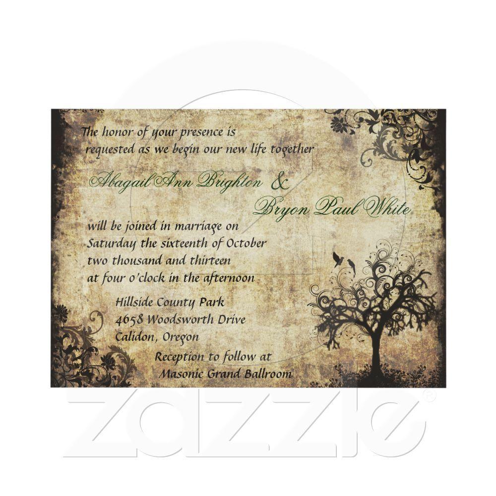 New Life Vintage Wedding Invitation from Zazzle.com | Wedding-ish ...