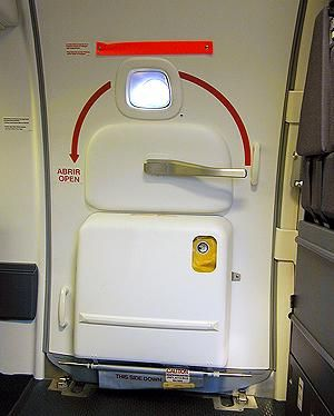 United 757 door | Aircraft Door & United 757 door | Aircraft Door | United Airlines Airplane Visual ...