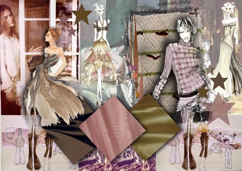 Fashion Design Inspirational MoodBoard