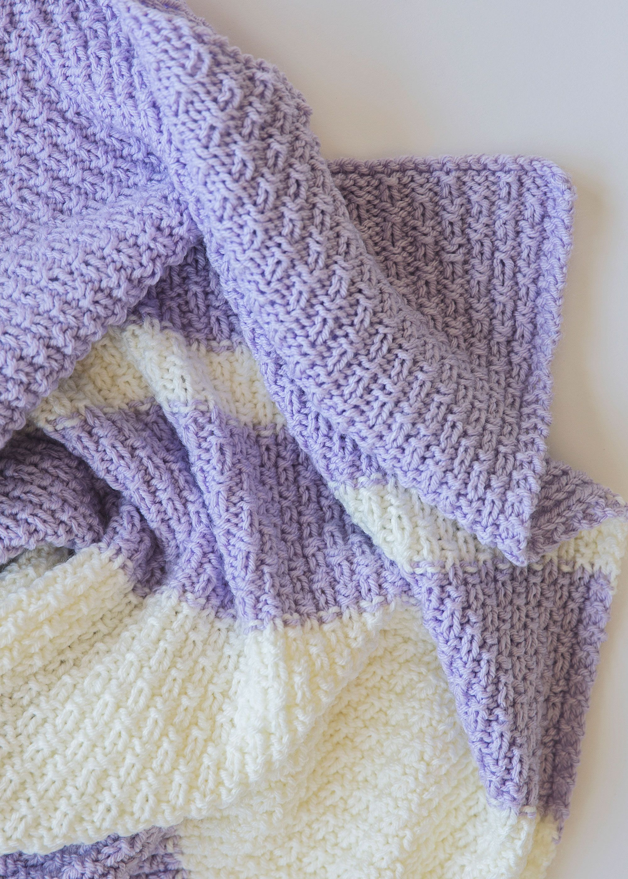 Unusual Knitting Patterns For Toddlers : This easy knit baby blanket pattern is super fun and also ...