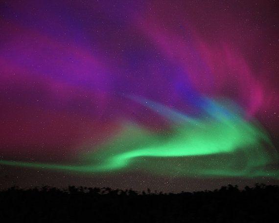 Aurora Borealis, winter, northern lights, nature photography, night - new blueprint alberta northern lights