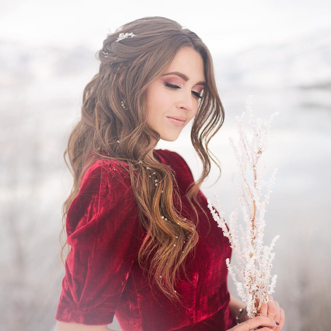 """Stephanie Brinkerhoff on Instagram: """"Well since it's SNOWING right now in Utah, why not post some more winter pics? ❄️ The weather is just as confused about 2020 as we are.…"""""""