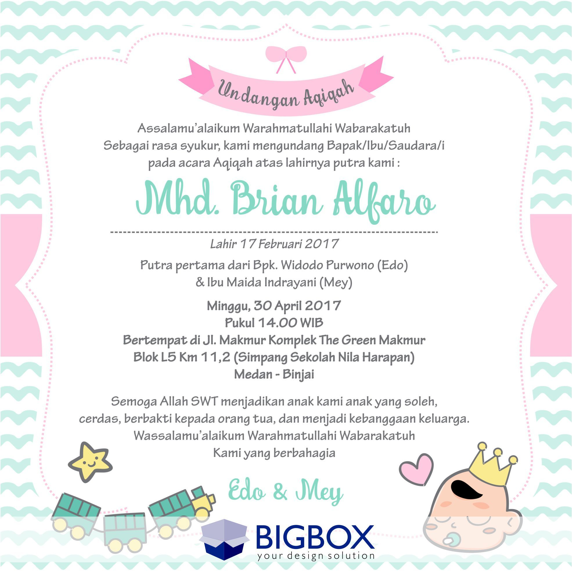 Pin By Azila Zaid On Design Baby Girl Birth Announcement