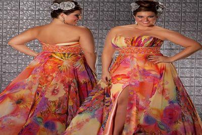 Plus Size Prom Dresses 2012
