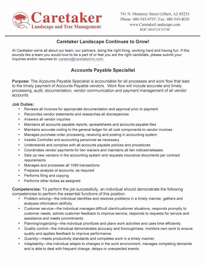 23 Accounts Receivable Job Description Resume in 2020