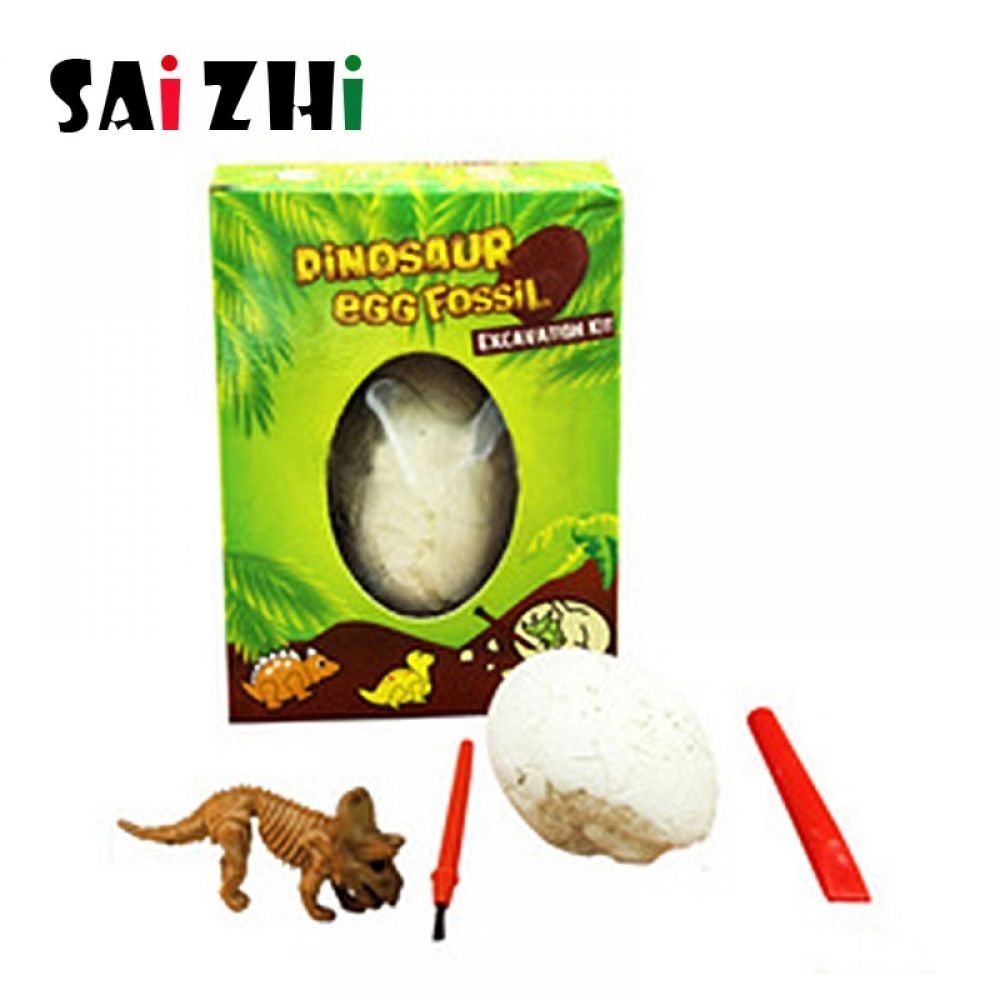 Saizhi Dinosaur Fossil Archeology Digging Creative DIY Early Childhood Parenting Childrens Model Science Experiment Toys #dinosaurfossils