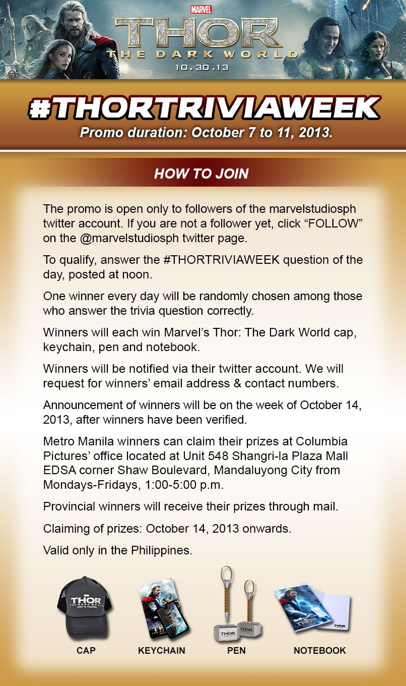 Pin by Marvel Philippines on Promos | Trivia questions