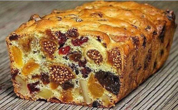 Кекс Мазурка с сухофруктами и орехами — это ароматный десерт с насыщенным, ярким вкусом, готовится очень просто и быстро