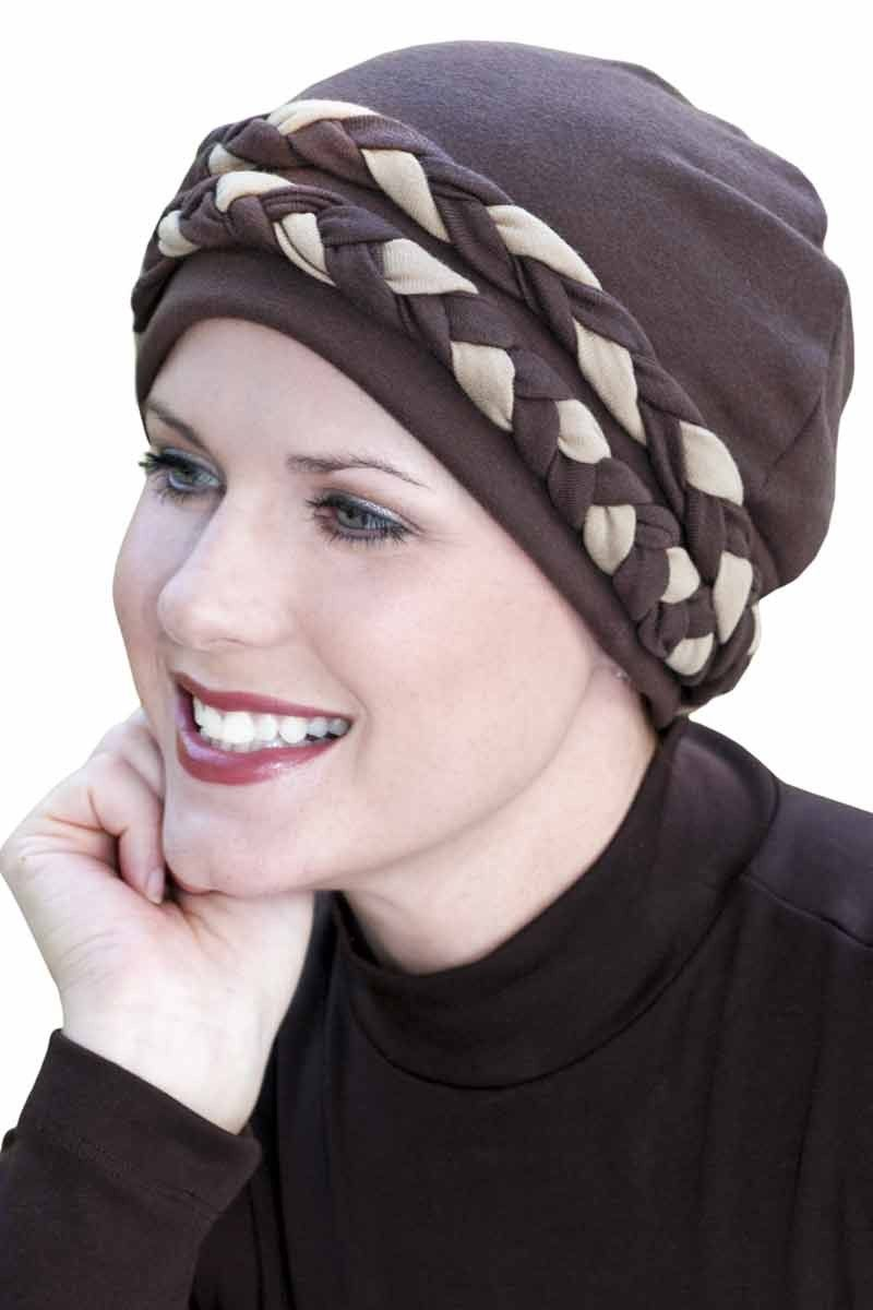 575666a8897 Double Braid Turbans  Headcoverings for Cancer Patients and Hair Loss