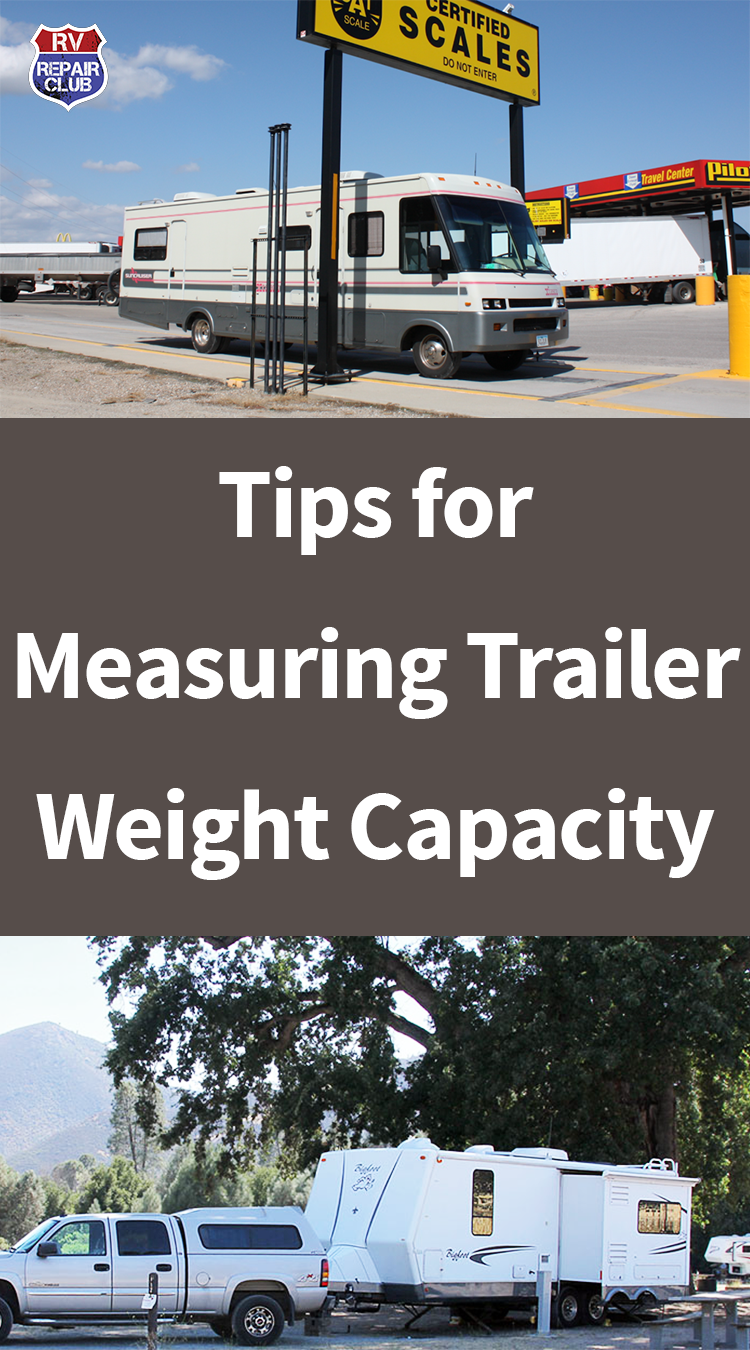 Tips For Measuring Trailer Weight Capacity Tips, Rv