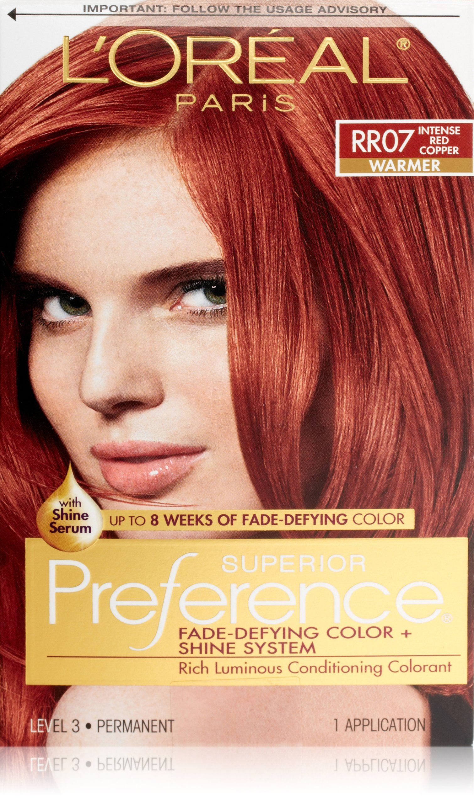 Amazon Com Preference Intense Red Copper Chemical Hair Dyes