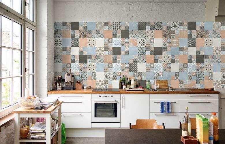 Arredare la cucina con le piastrelle cementine cementine cement