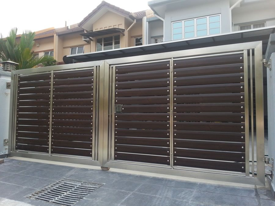 Our stainless steel gate is manufactured and welded by