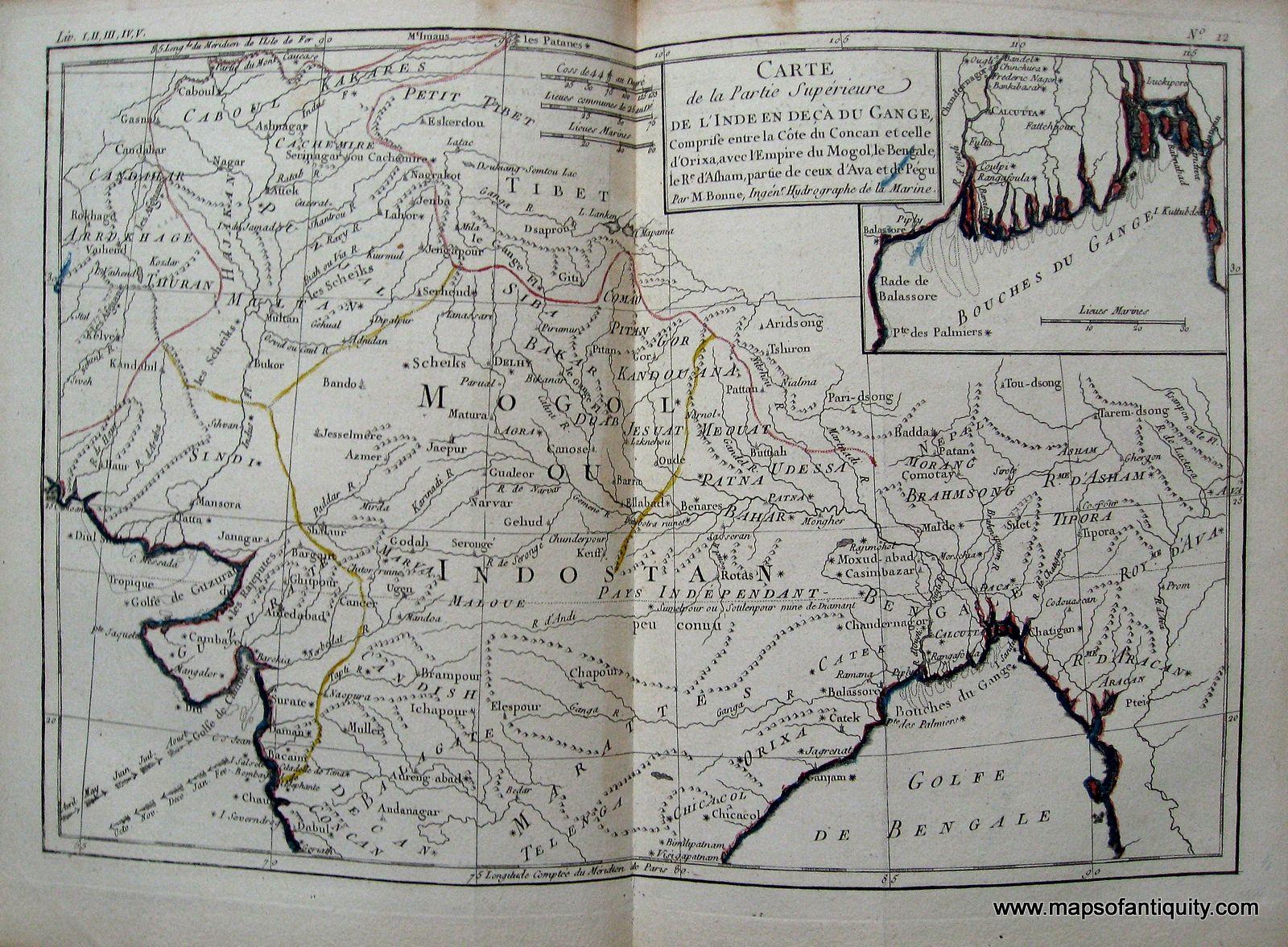 Partie superieure de linde en de ca du gange etc antique maps antique maps partie superieure de linde en de ca du gange etc antique publicscrutiny Image collections