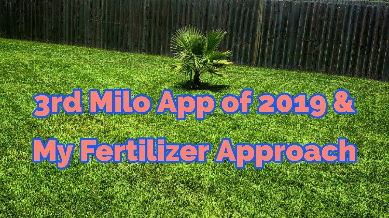 3rd Milorganite App My Approach To Lawn Fertilizing Youtube Milorganite Fertilizer Lawn Work