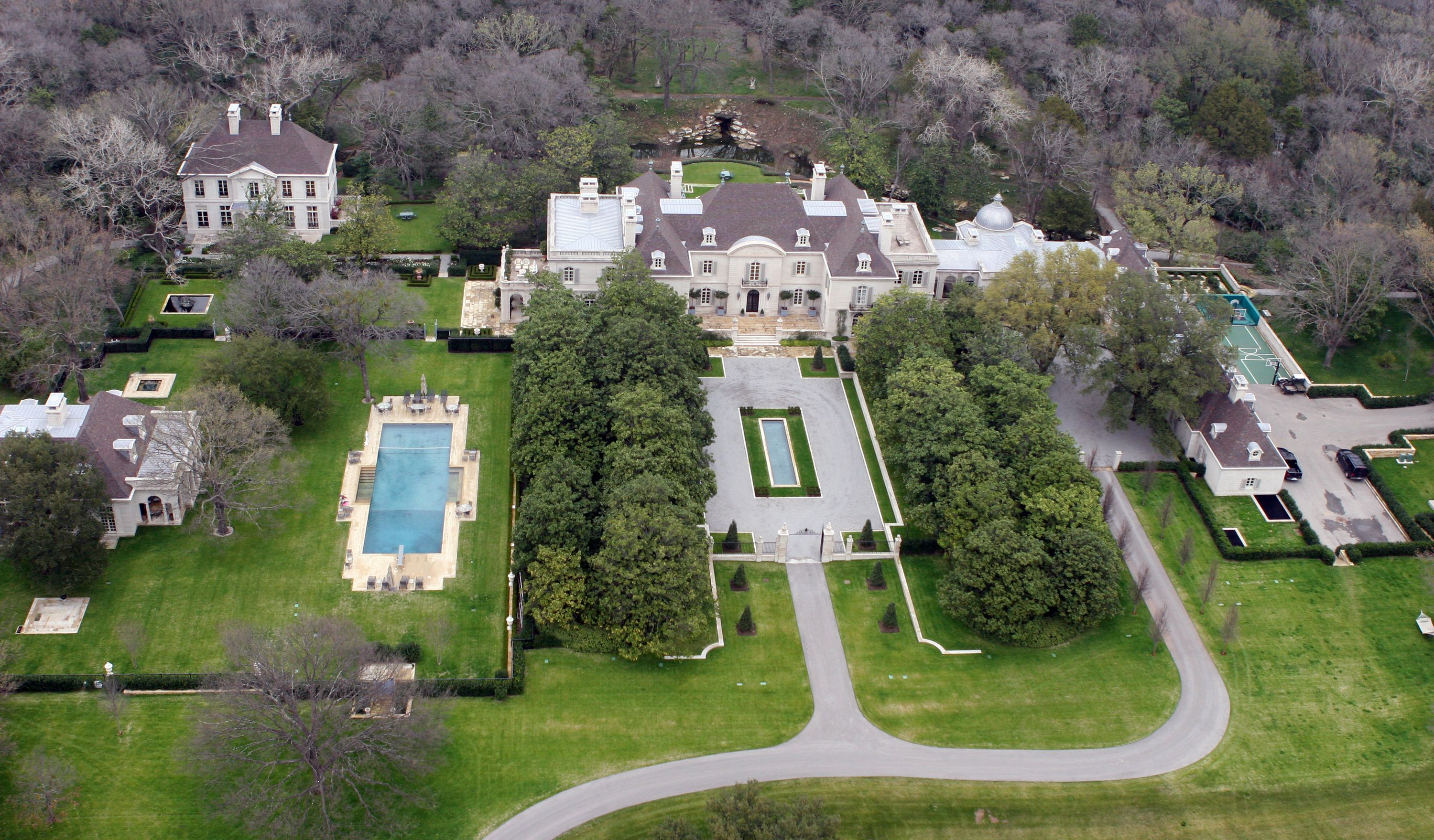 Crespi hicks estate dallas tx price 135 million now for Most expensive house in dallas