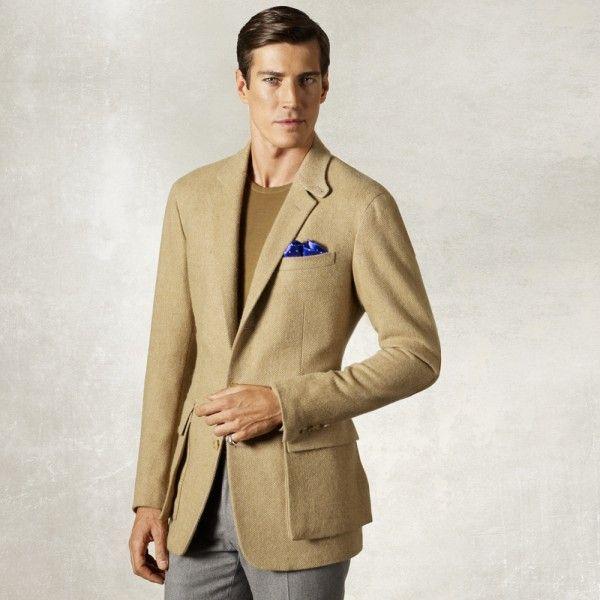 Mens Sport Coats ralp lauren purple label men brooklands cashmere ...