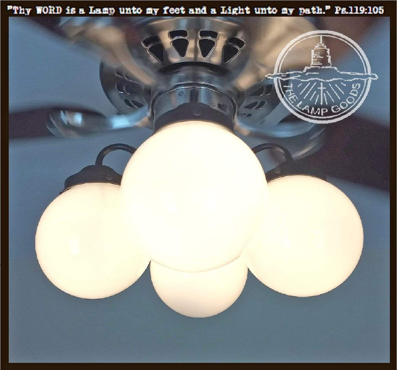 Ceiling Fan Light Kit Of Modern Milk Glass Globes Ceiling Fan With Light Fan Light Kits Ceiling Fan Light Kit