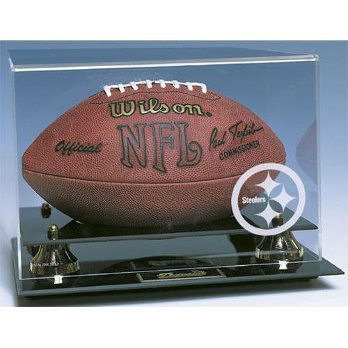 Pittsburgh Steelers NFL Deluxe Football Display Case