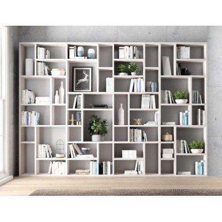 Libreria soggiorno art. nes237 nel 2020 Libreria