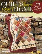Can't decide which of the gorgeous designs in Nancy Rink's Quilts to Warm Today's Home that I like best!