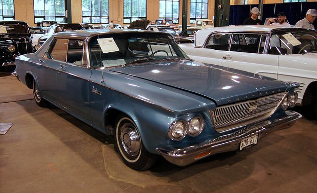 A 63 Chrysler Newport was my first car it had push button automatic it was a big boat with a big engine that cruised the highways like floating on air ...