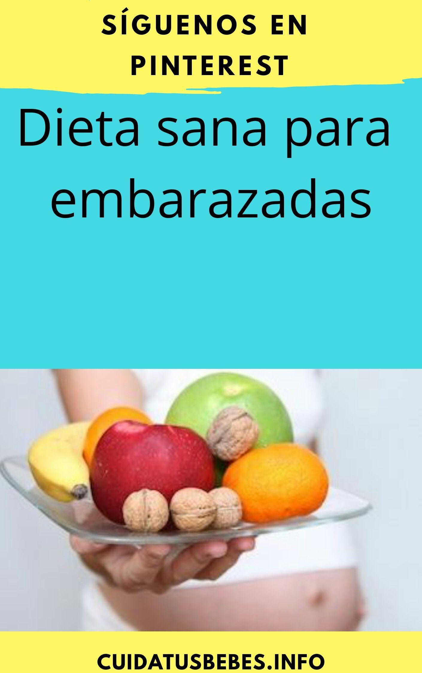 Dieta de las embarazadas